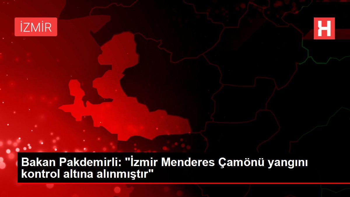 Bakan Pakdemirli: