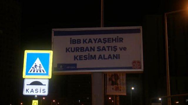 Başakşehir'de gece 4'te 'kasaplar kurban kesimini bırakıp kaçtı' iddiası