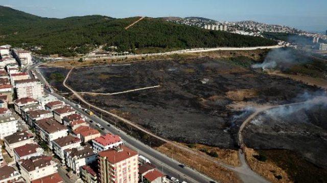 İstanbul'da askeri alanda yangın çıktı! İtfaiye ekiplerinin müdahalesi sürüyor