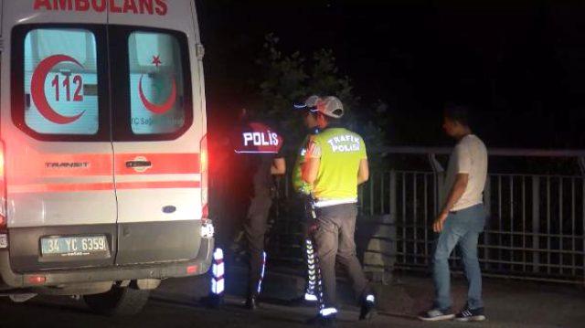 Kontrolden çıkan motosiklet, bariyerlere çarptı: 2 ölü