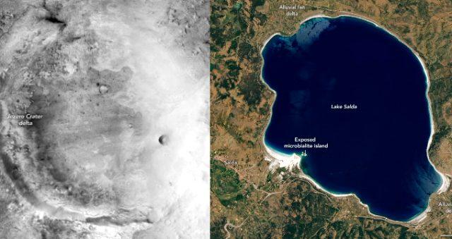 NASA'dan Salda Gölü paylaşımı! Salda Gölü nerede? Salda Gölü hangi ilimizdedir? Salda Gölü özellikleri neler?