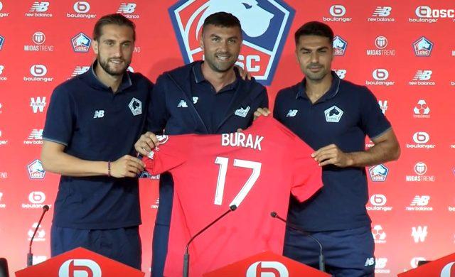 Zeki Çelik, 17 numarayı Lille'e transfer olan Burak Yılmaz'a verdi