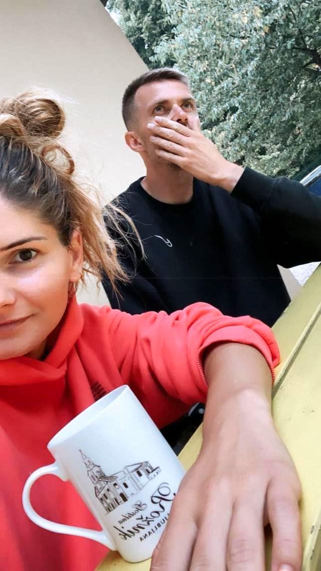 Eşini başka bir erkekle yakaladığı iddia edilen Ilicic, paylaştığı fotoğrafla çıkan haberleri yalanladı