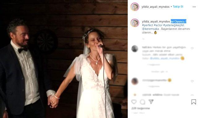 Evliliği 30 gün süren Yıldız Asyalı'dan eski eşine gönderme: İyi oyuncu, başarılarının devamını dilerim