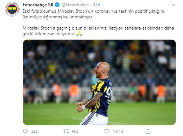 Fenerbahçe'nin eski yıldızı Miroslav Stoch, koronavirüse yakalandı