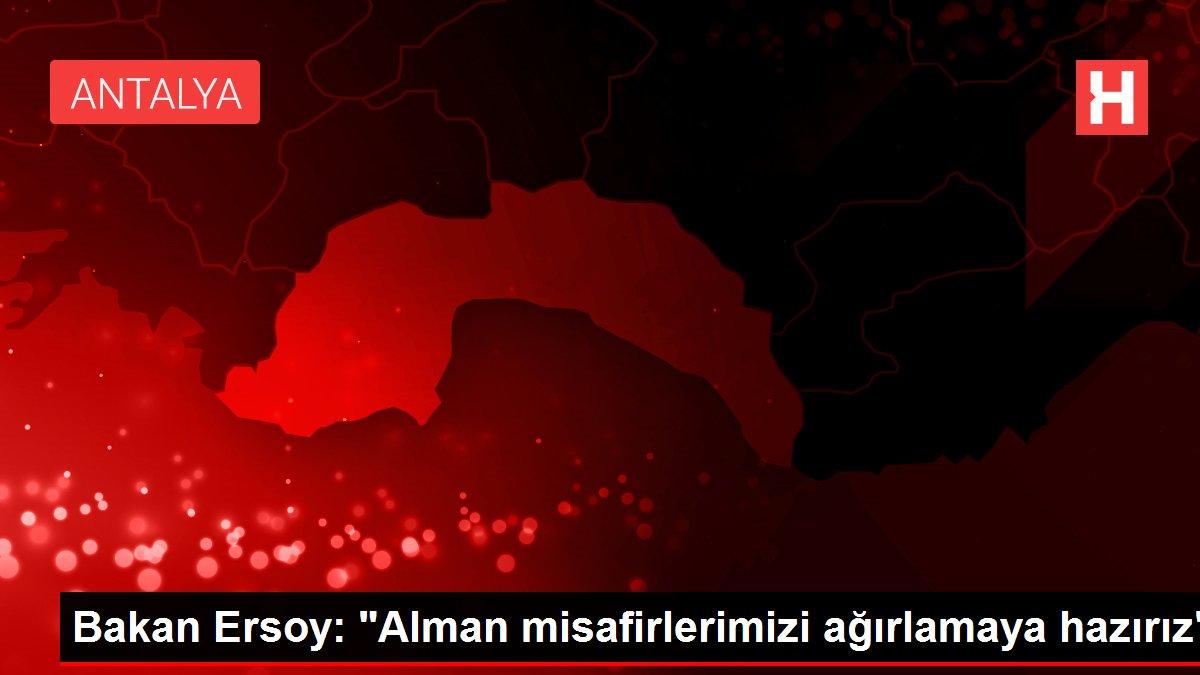 Bakan Ersoy: