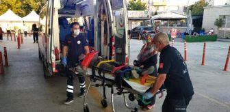 Mesudiye: Çatıdan topu almak isterken düşen Abdurrahim'in kolu kırıldı