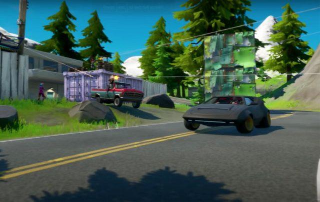 Fortnite The Joy Ride güncellemesi ile sürülebilir arabaların olduğu bir dünya olacak