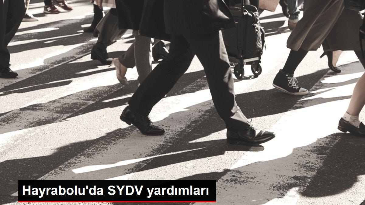 Hayrabolu'da SYDV yardımları