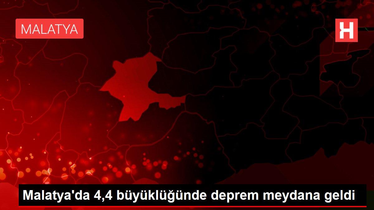 Malatya'da 4,4 büyüklüğünde deprem meydana geldi