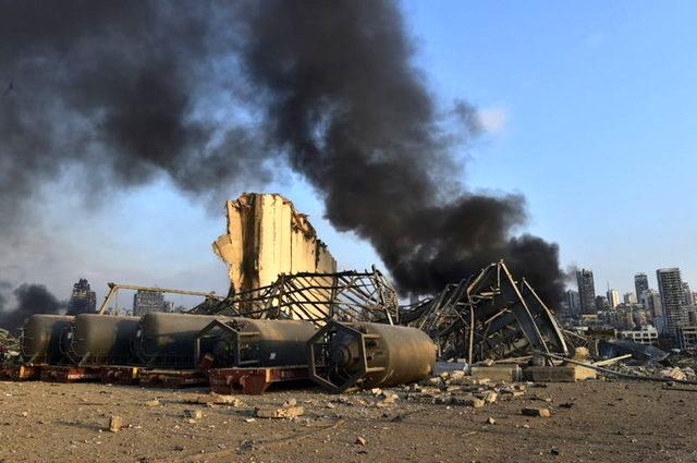 Son Dakika: Beyrut patlamasını terör örgütü DEAŞ üstlendi