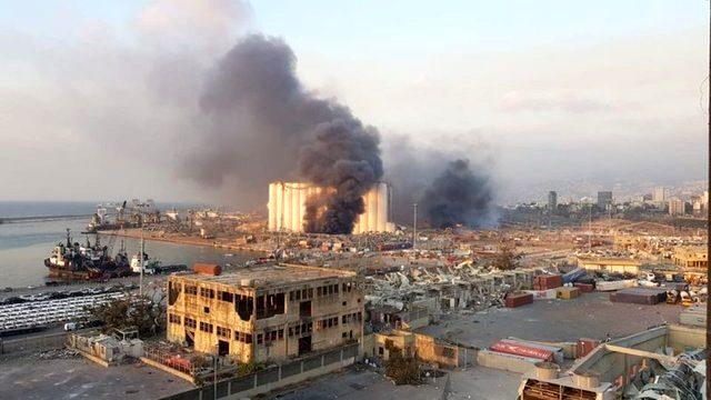 Beyrut patlamasının ilk inceleme sonuçları belli oldu! Yıllardır süren ihmaller zinciri felakete neden olmuş