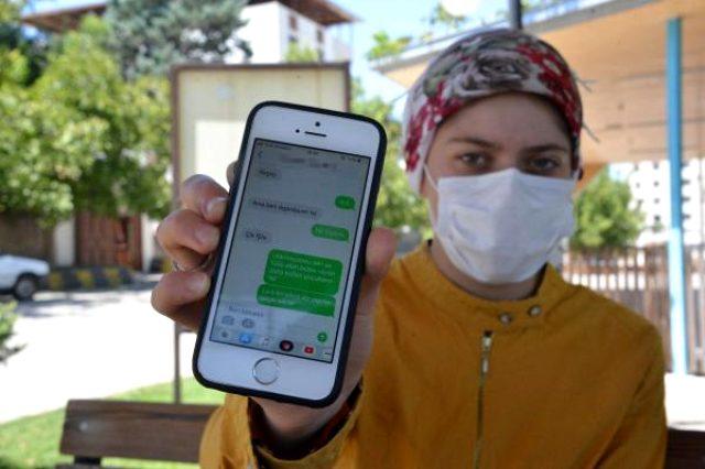 Hastanenin güvenlik görevlisi, genç kadını mesajlarla taciz etti: Eşin uyuyorsa kapıyı aç eve geleyim