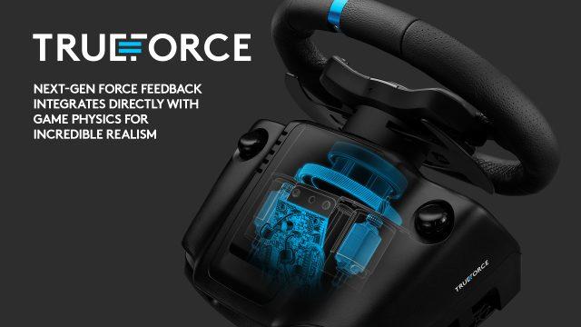 Logitech G923 gerçeğe en yakın deneyim için geliştirildi! Logitech'ten Trueforce teknolojisi ile geliştirilen yeni direksiyon seti