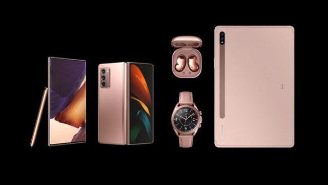 Samsung, yeni Galaxy ürünlerinin tanıtımını yaptı
