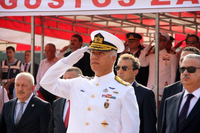 Kardak kahramanlarından Tuğamiral Ercan Kireçtepe SAT Komutanlığı'na atandı