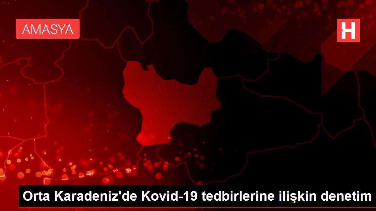 Orta Karadeniz'de Kovid-19 tedbirlerine ilişkin denetim