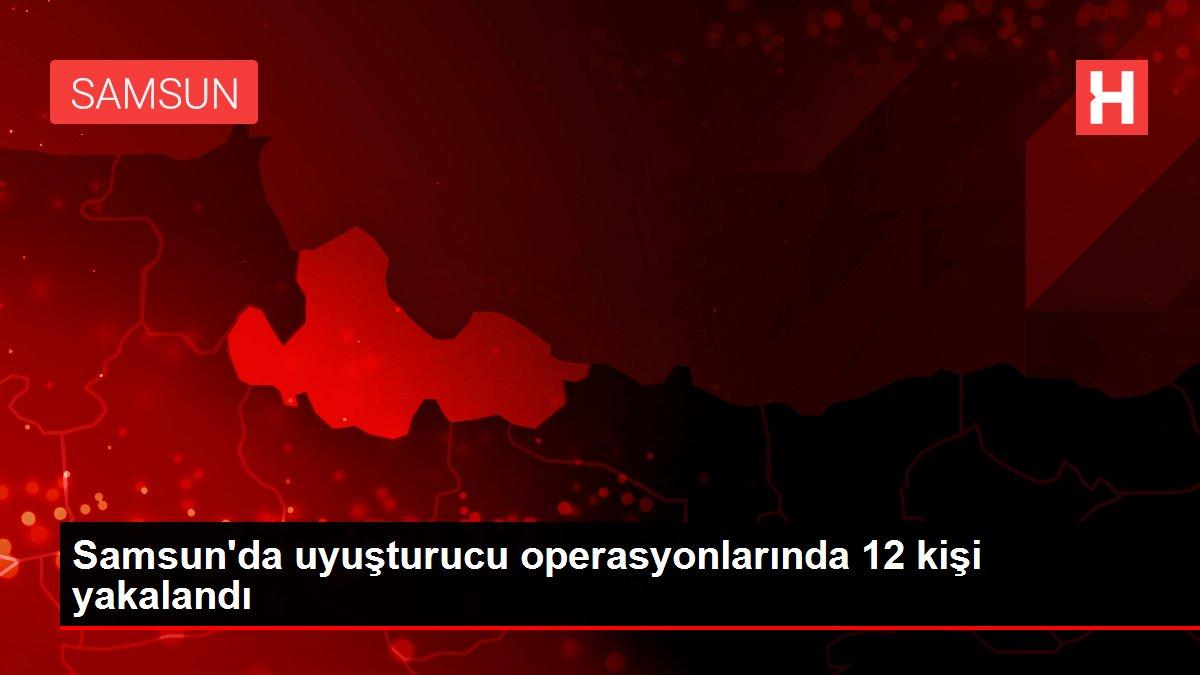 Son dakika haberi: Samsun'da uyuşturucu operasyonlarında 12 kişi yakalandı