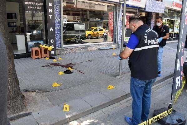 Sokak ortasında tartıştığı kişiyi silahla ağır yaralayıp kaçtı