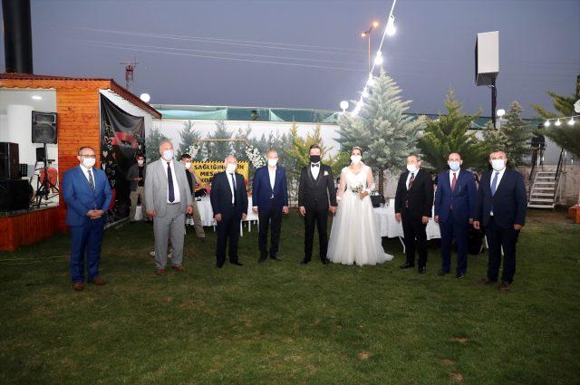 İçişleri Bakanı Soylu, 'düğün salonu' denetimine katıldı