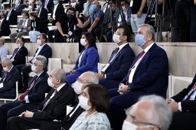 İmamoğlu'ndan parti kuracağı konuşulan Muharrem İnce hakkında iki cümlelik yorum