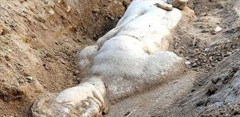 Mitoloji: Smyrna Antik Kenti kazılarında mitolojik varlık Satyros'un kabartması bulundu