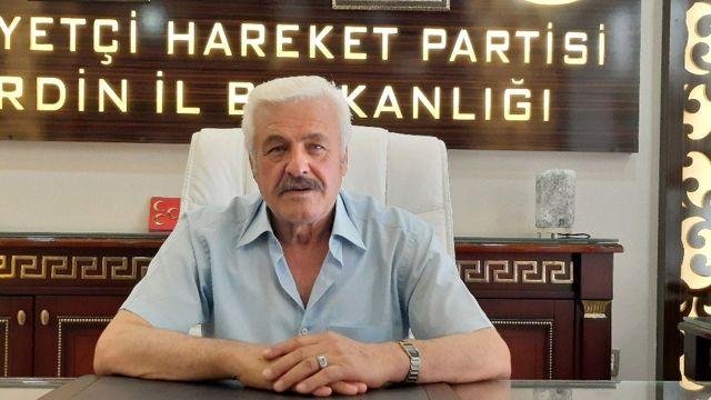 MHP Mardin İl Başkanı Bozkuş: