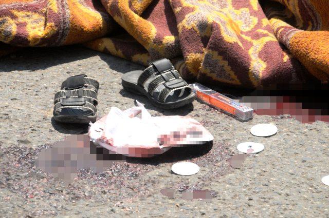Şırnak'ta kamyonun çarptığı iki kardeşten biri feci şekilde can verdi