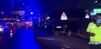 Edirne: Bahçelievler'deki trafik kazasında iki kişi yaralandı