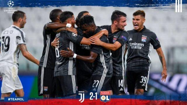 Manchester City ve Lyon, Şampiyonlar Ligi'nde çeyrek finale yükseldi