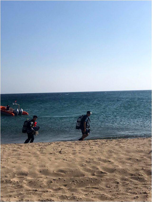Deniz kenarında fotoğraf çektirmek isterken akıntıya kapılan bir kişi boğuldu