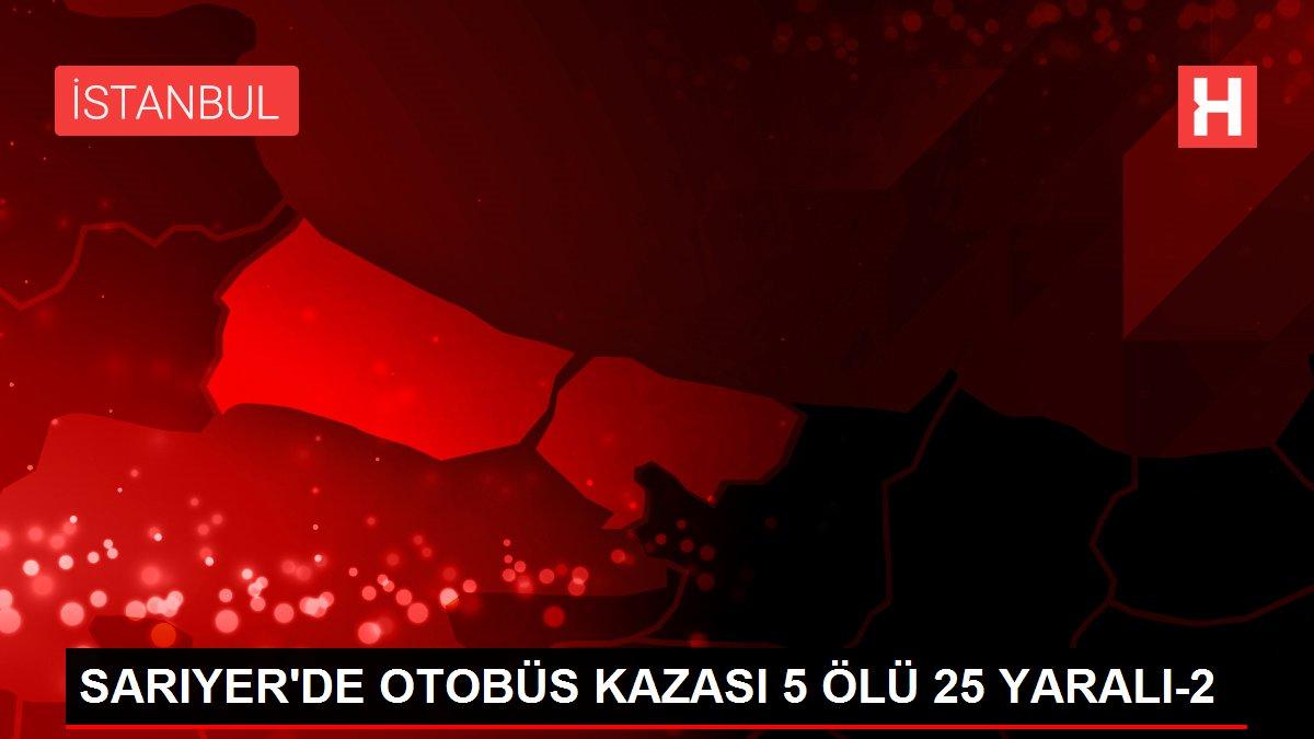 SARIYER'DE OTOBÜS KAZASI 5 ÖLÜ 25 YARALI-2