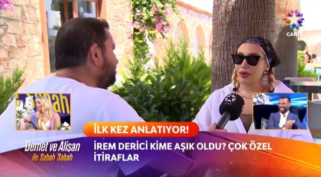 İrem Derici'den özel ilişki çıkışı: Flört sadece karşı cinsle yaşanmaz