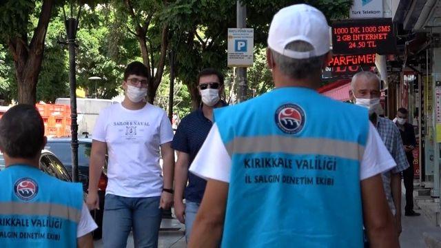 Pilot il Kırıkkale'de 5 bin 700 iş yerinde 'Covid-19' denetimi yapıldı