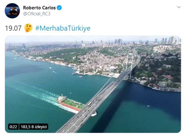 Roberto Carlos'un 19:07 paylaşımı, Fenerbahçe taraftarını heyecanlandırdı