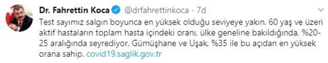 Son Dakika: Türkiye'de 10 Ağustos günü koronavirüs kaynaklı 14 can kaybı, 1193 yeni vaka tespit edildi