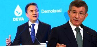 Sonar'ın son anketinden Ali Babacan ve Davutoğlu'nu üzecek sonuçlar çıktı