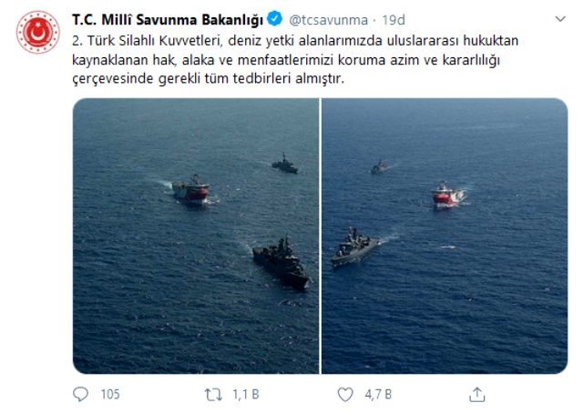 Türkiye-Yunanistan gerginliğinde Akdeniz'de sular ısınıyor! Türk savaş gemileri sahaya indi