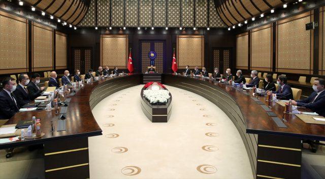 Beştepe'deki Savunma Sanayii İcra Komitesi toplantısı sonrası kararlılık mesajı