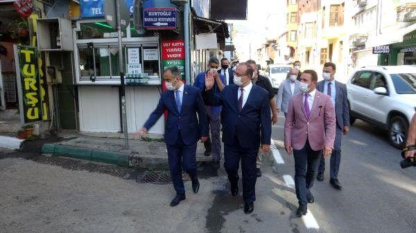 Son dakika haberleri... Bursa'da maske, mesafe ve hijyen denetimi