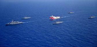 Denizcilik: Dışişleri Bakanlığı, Oruç Reis'in faaliyet sahasını gösteren haritayı paylaştı