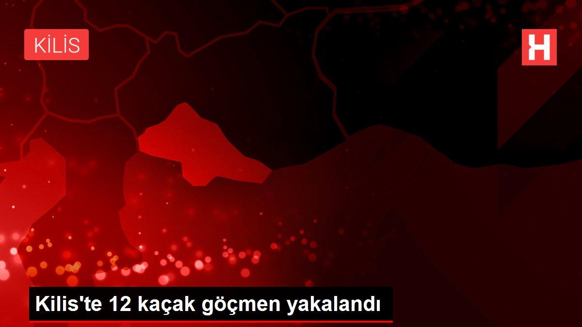 Son dakika... Kilis'te 12 kaçak göçmen yakalandı