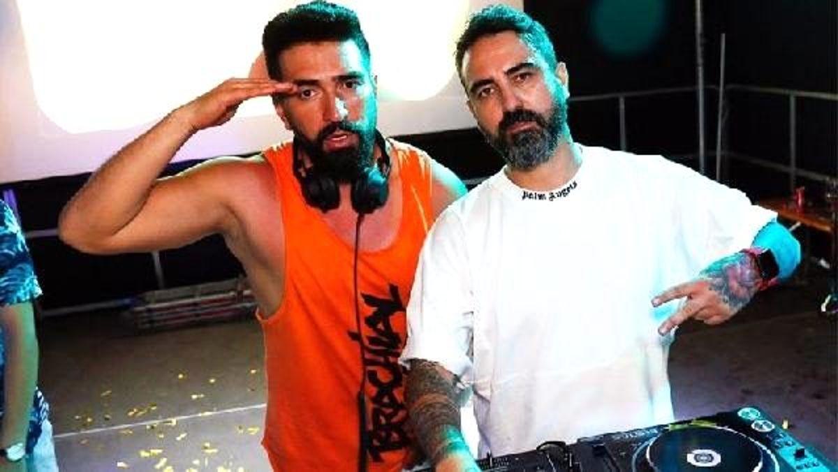 Türk DJ'ler Murat Hendes ve Hakan Işık Avusturya'da konser verdi