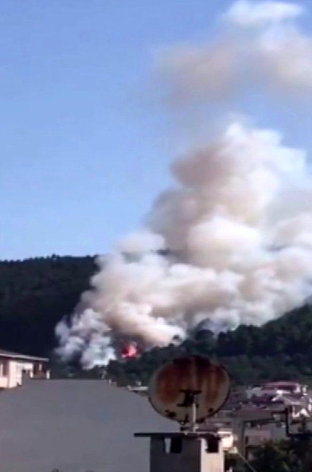 Aydos Ormanı'nda 4 farklı noktada yangın çıktı! Söndürme çalışmaları sürüyor