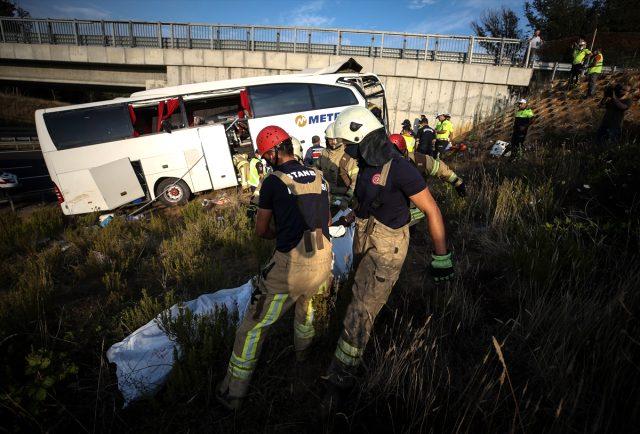 İstanbul'da 5 kişinin öldüğü otobüs kazasında şoförün korkunç ihmali soruşturmada ortaya çıktı