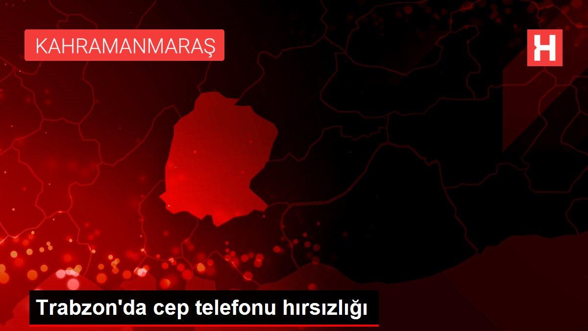 Trabzon'da cep telefonu hırsızlığı