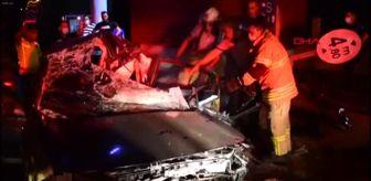 Çiğli: Son dakika haber: İzmir'de trafik kazası: 1'i ağır 3 yaralı