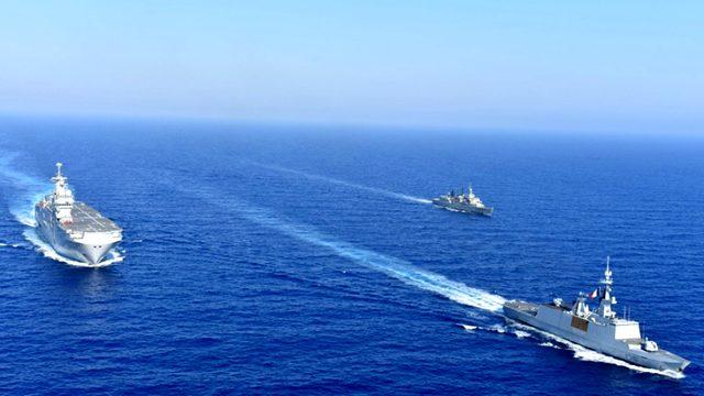 Oruç Reis'in sahadaki varlığı onları rahatsız etti! Yunanistan ve Fransa Doğu Akdeniz'de ortak askeri tatbikat düzenledi