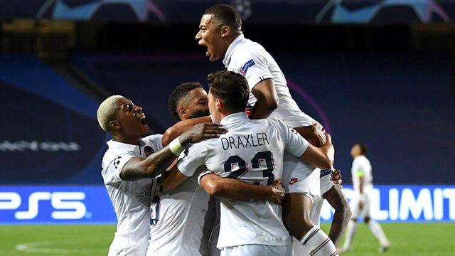 Şampiyonlar Ligi'nbde ilk yarı finalist Paris Saint-Germain oldu