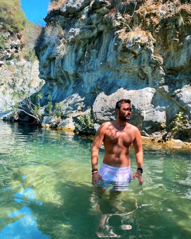 Deren Talu'nun sevgilisi Baran Tınaz'la birlikte tatil yaptığı ortaya çıktı